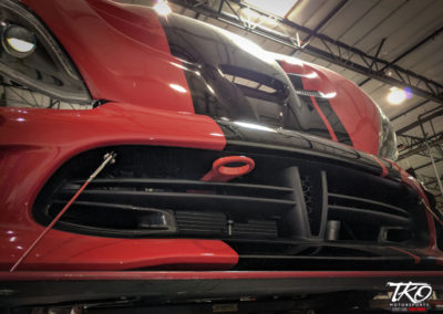 TKO Motorsports - Dodge Viper ACR Front Tow Hook [TKOSROD1292K] & ACR Advanced Down Force Splitter [TKOSROD1279K]