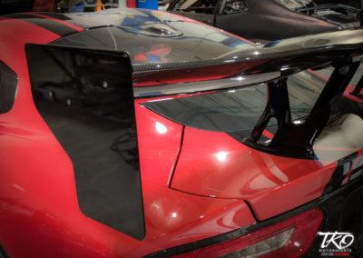 TKO Motorsports - Dodge Viper Carbon Fiber Wing End Plates [TKOSROD1279K]