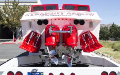 1986 Apache Offshore Race Boat