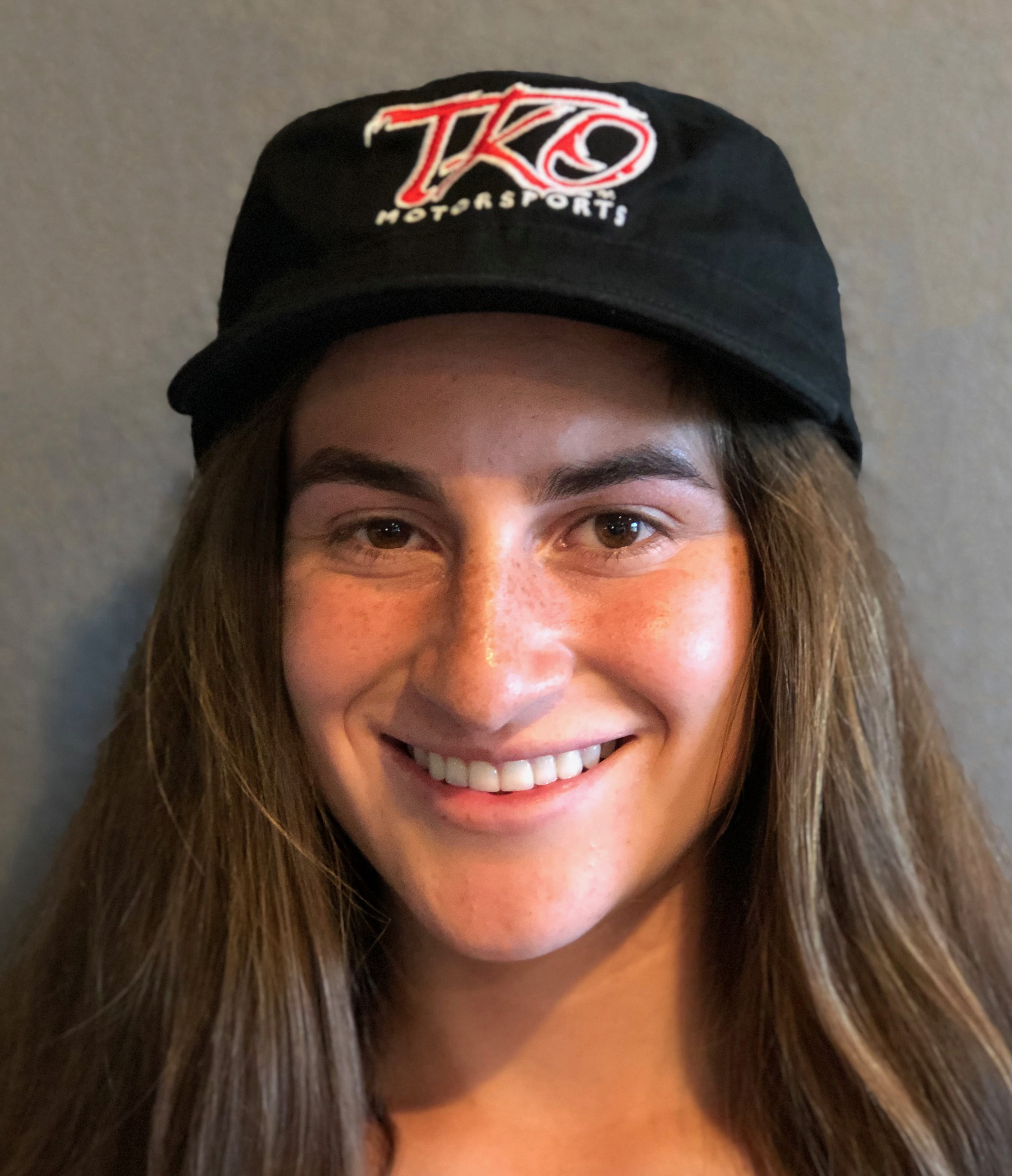 WOMEN'S SHORT BILL CADET CAP WITH TKO LOGO